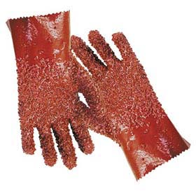 PERM-RUFF Fully-Coated PVC Gloves - Fully-coated PVC gloves