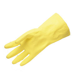 Chemical Resistant Unsupported Safety Gloves Without Lining