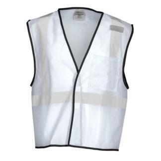 White Safety Vest