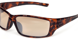 Brown, Mocha, Orange Safety Glasses