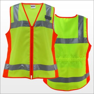 Solid Fabric Class 2 Vest