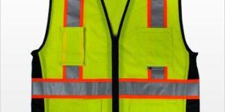 ANSI Class 2 Safety Vest Hi-Visibility