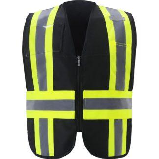 Black Safety Vest