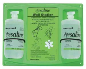 Fendall Double 32oz Eye Wash Wall Station